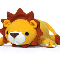 Lucky Lion Pattern PDF Tutorial Sewing Plush by DIYFluffies