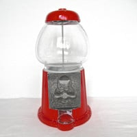 Vintage Gumball Machine Bright Red Candy Machine Carousel Vintage Home Decor Vintage Candy Stores