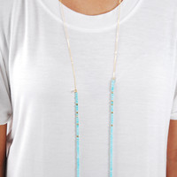 The Betsy Necklace - Blue