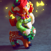 Dota 2 Enchantress [CHOOSE your own SET] Keychain/ornament