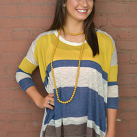 Loosen Up Striped Top