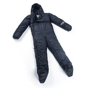 Selk'bag Original 5G Black Cave Jumpsuit Sleeping Bag