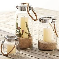 Outdoor Candle Lanterns & Decorative Candle Lanterns | Pottery Barn