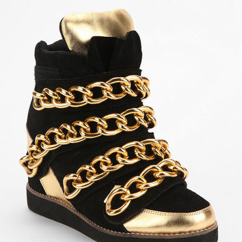 Jeffrey Campbell Chunky Chain High-Top Sneaker