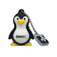 EMTEC M314 Animal Series 4 GB USB 2.0 Flash Drive, Penguin