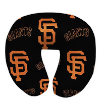 San Francisco Giants MLB Beadded Spandex Neck Pillow (12in x 13in x 5in)