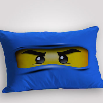 ninjago masters blue, pillow case, pillow cover, cute and awesome pillow covers