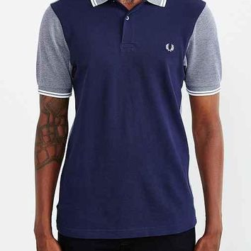 Fred Perry Colorblock Oxford Pique Polo Shirt