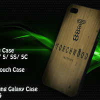 Torchwood Institute iPhone 4/4S / 5/ 5s/ 5c case, iPod Touch 4 / 5 case, Samsung Galaxy S3/ S4 case