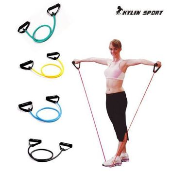 LMFGC3 Pull Rope Elastic Rope Crossfit Set Multifunctional Training Equipment Rubber Band Belt Gym Equipment
