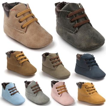 ROMIRUS Winter Outdoor baby shoes PU Leather Baby moccasins infant anti-slip first walker soft soled Newborn Baby boy Boots