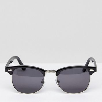 ASOS Polarised Classic Retro Sunglasses at asos.com