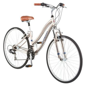 "Schwinn Womens Clear Creek 28""/700c Hybrid Bike- Gold"