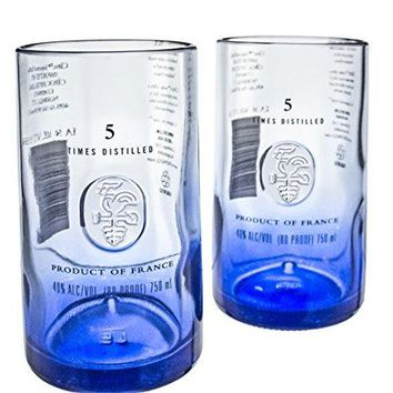 Ciroc Premium Vodka Reclaimed Bottles Glassware Barware Drinkware Tumbler Glasses Gift Set