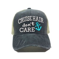 """Cruise Hair Don't Care"" Trucker Hat"