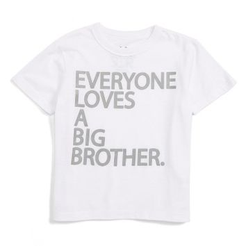 Chaser Everyone Loves a Big Brother T-Shirt (Toddler Boys & Little Boys) | Nordstrom