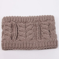 Headband, Wide Infinity Knit Headband Ear Warmers. Thick, Extra Plush Braided Cable Knit. Assorted Colors Available.