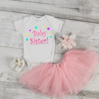 Baby Sister Baby Onesuit