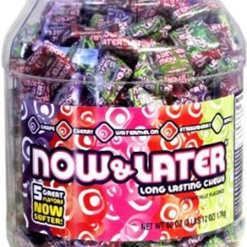 Now & Later Classic Candy Tub