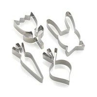 Easter Cookie Cutters (Set of 4)