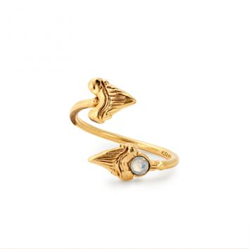 Shark Tooth Ring Wrap