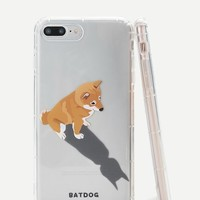 Dog & Shadow iPhone Case