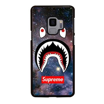 BAPE CAMO SHARK SUPREME NEBULA Samsung Galaxy S4 S5 S6 S7 S8 S9 Edge Plus Note 3 4 5 8 Case Cover