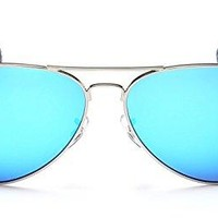 "PRIVÉ REVAUX ""The Commando"" Polarized Aviator Sunglasses - Handcrafted Designer Eyewear For Men & Women"