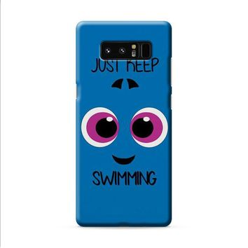 Baby Dory Just Keep Swimming Samsung Galaxy Note 8 case