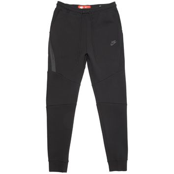 Nike Men's Sportswear Tech Fleece Joggers Triple Black Pant