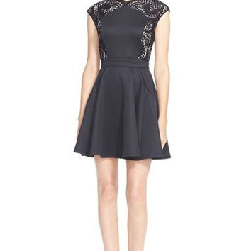 Women's Ted Baker London 'Vivace' Fit & Flare Dress,