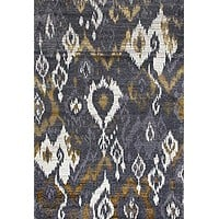 2160 Gray  Abstract Contemporary Area Rugs