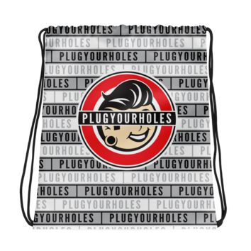 Plug Boy Bar Eyes - Drawstring bag