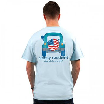 Guys Four by Four Tee by Simply Southern