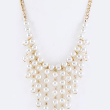 Dangling Pearl Set