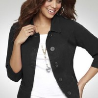 Avenue Plus Size Cropped Jacket $39.99
