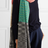 Missoni - Striped cashmere scarf