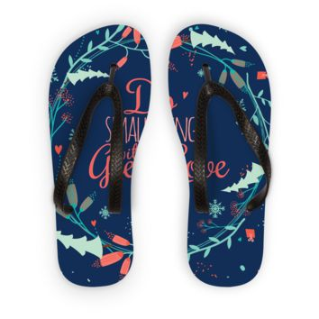 Do the Small Thing with Great Love Flip Flops