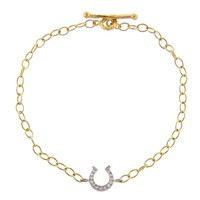 Diamond Horseshoe Bracelet