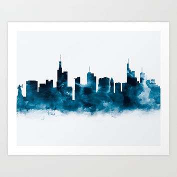 Frankfurt Skyline by monn