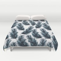 Ostrich Feather Duvet Cover by Susanna Nousiainen