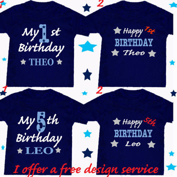 Birthday 1st or Princess or Worth wait etc 1 x bodysuit or 1 x T-shirt or 2 x white bibs or DESIGN YOUR OWN