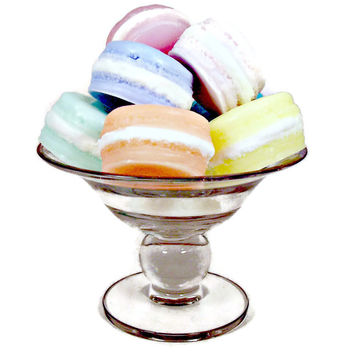 15 French Macaron Soap - No Calorie Indulgence! French Macaroon Soap