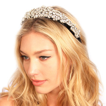 Crusted Crystals Headband