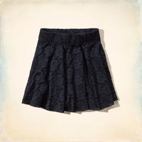Imperial Beach Lace Skater Skirt