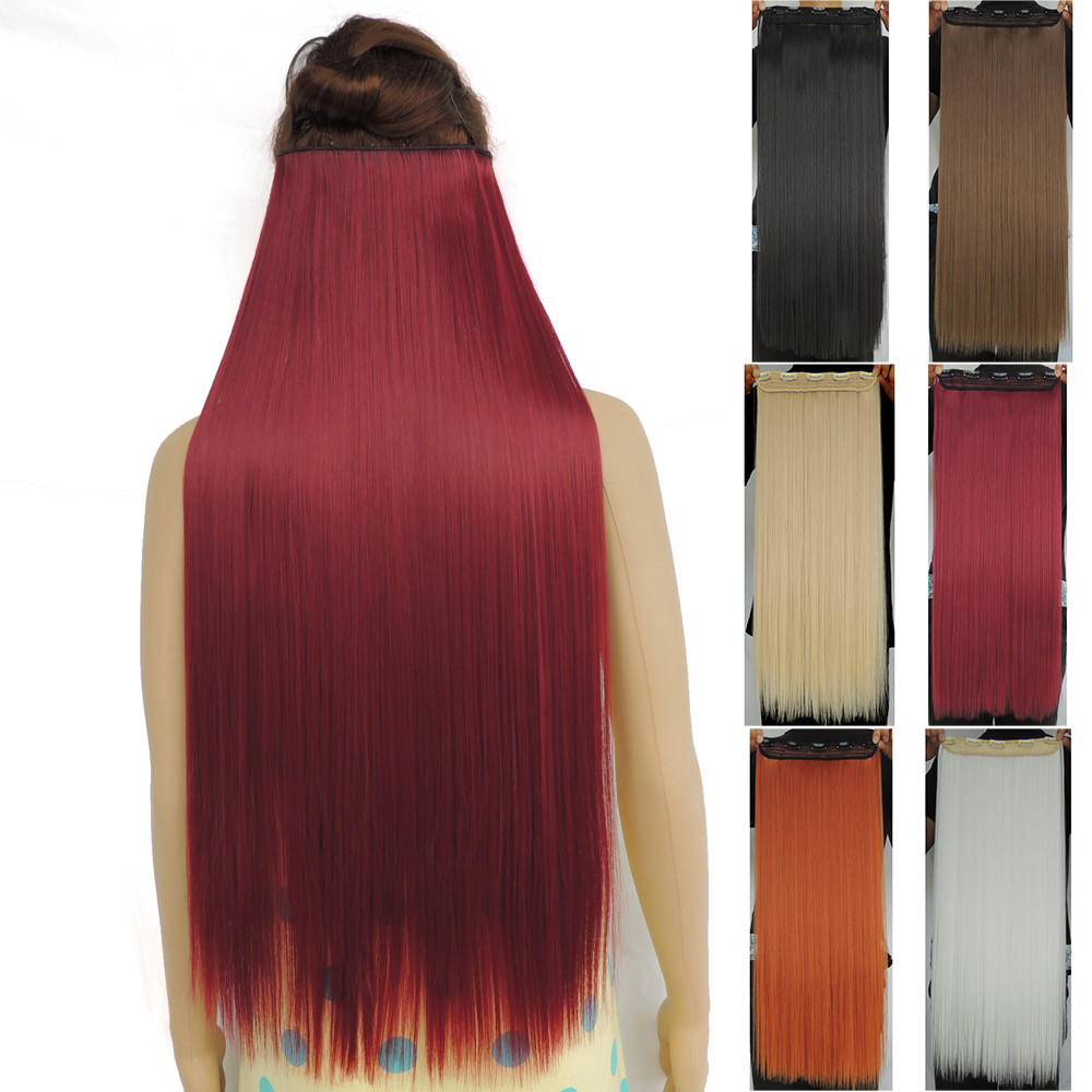120g 28 Inch Long Clip In Hair Extensions From Shoreline Clothing