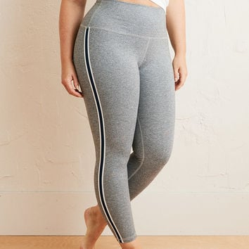 Aerie Move High Waisted Track 7/8 Legging, Dark Heather