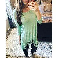 All About That Fringe Tunic