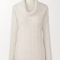 Soft touch cable sweater | Coldwater Creek