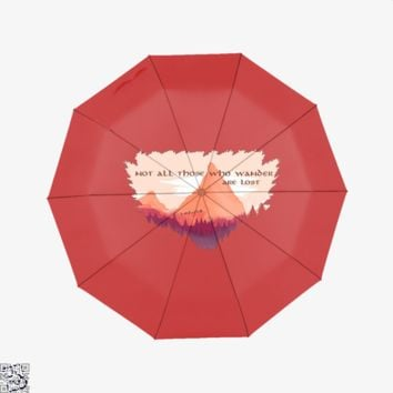 Adventure Is Out There, Lord Of The Rings Umbrella